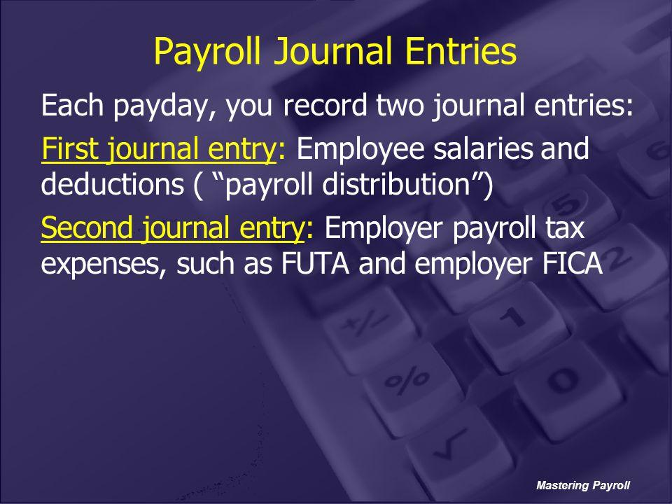 Payroll Journal Entries