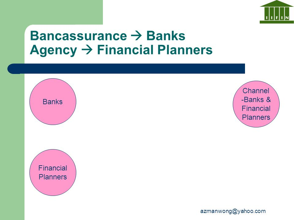 Bancassurance  Banks Agency  Financial Planners
