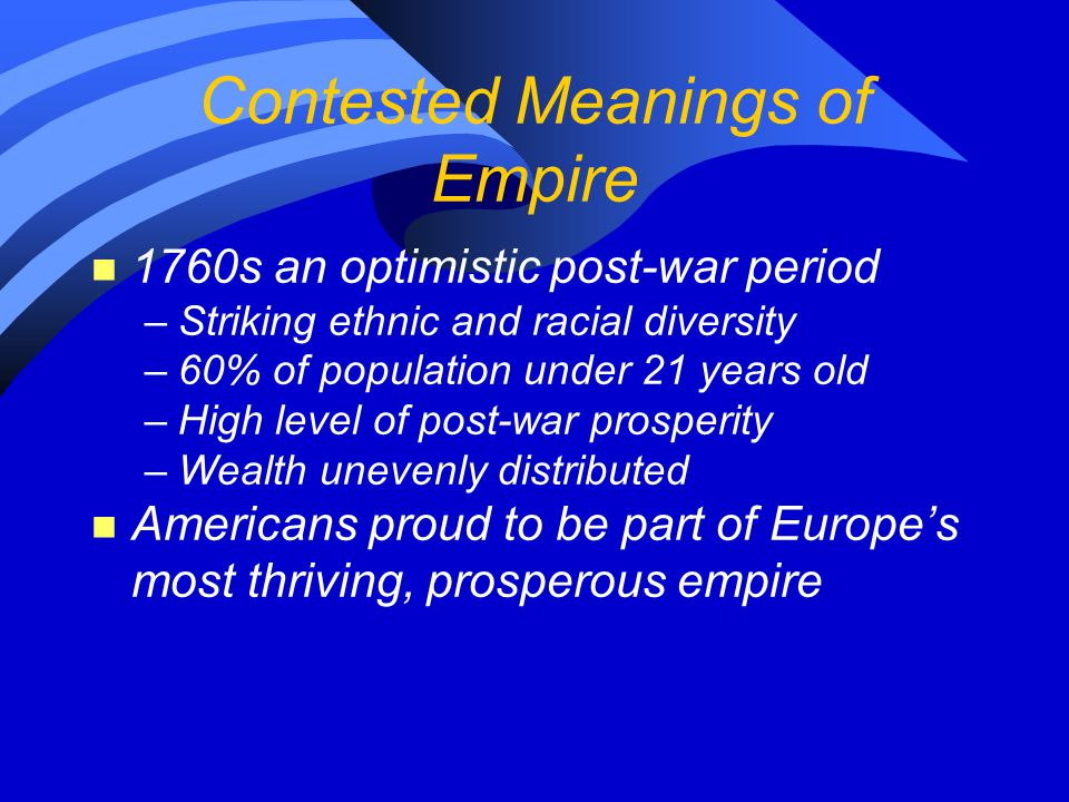 Contested Meanings of Empire