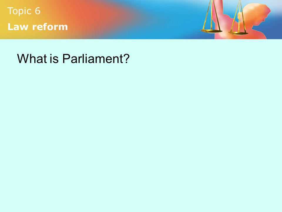 What is Parliament