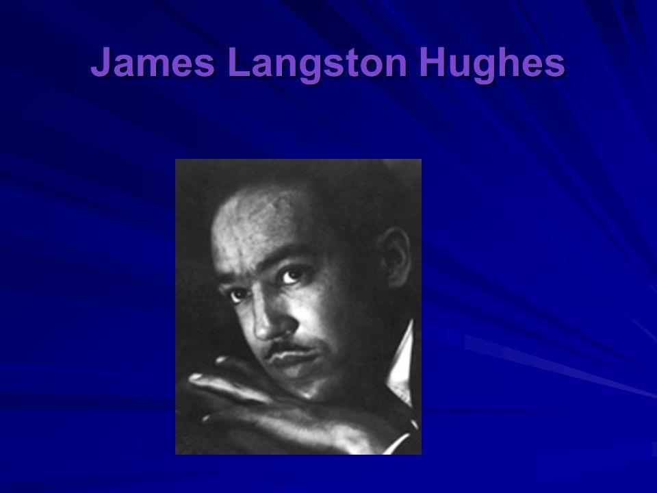 James Langston Hughes
