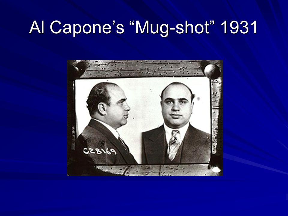 Al Capone's Mug-shot 1931