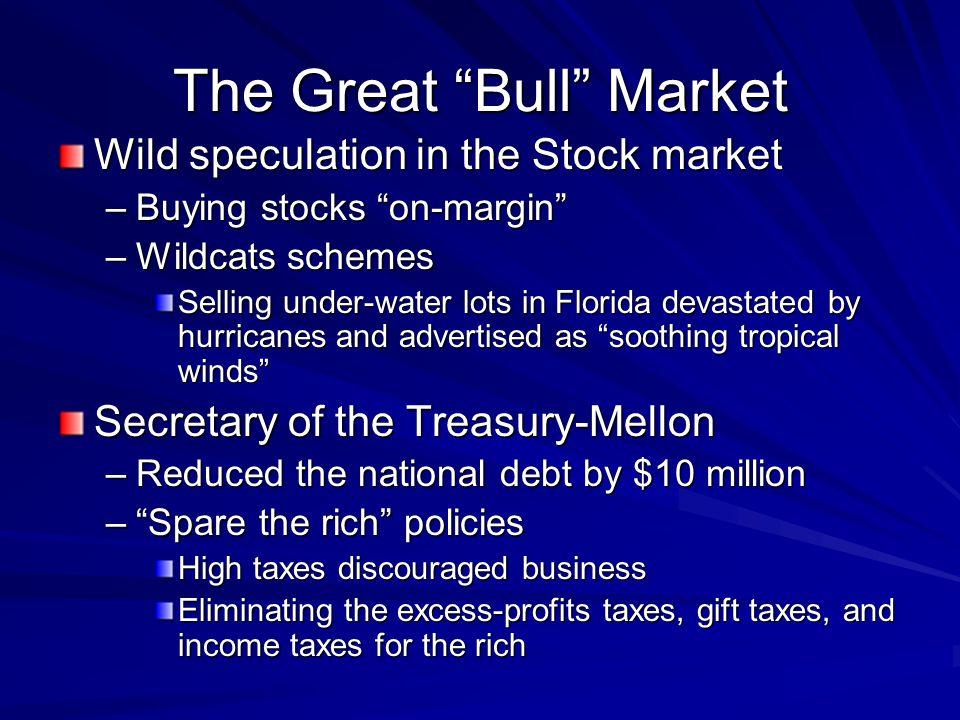 The Great Bull Market