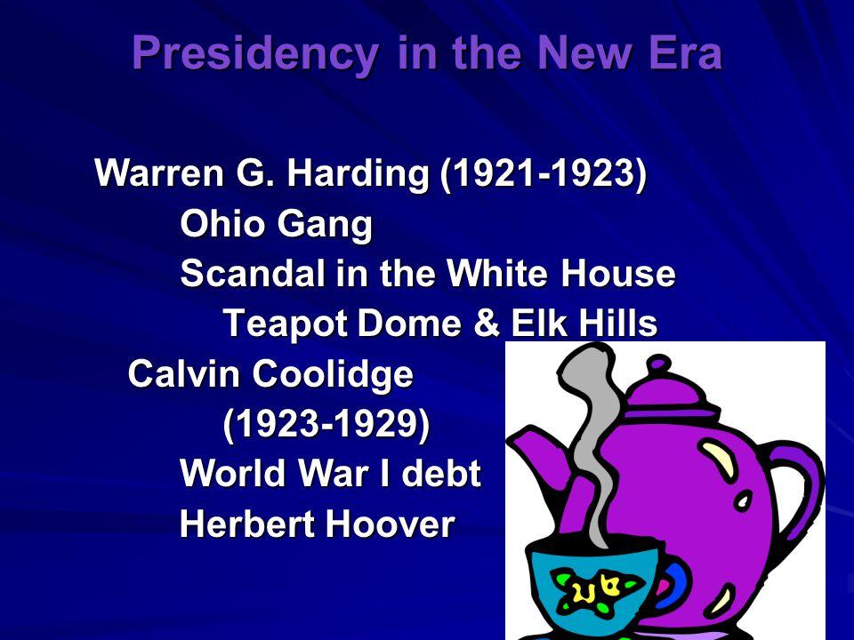 Presidency in the New Era