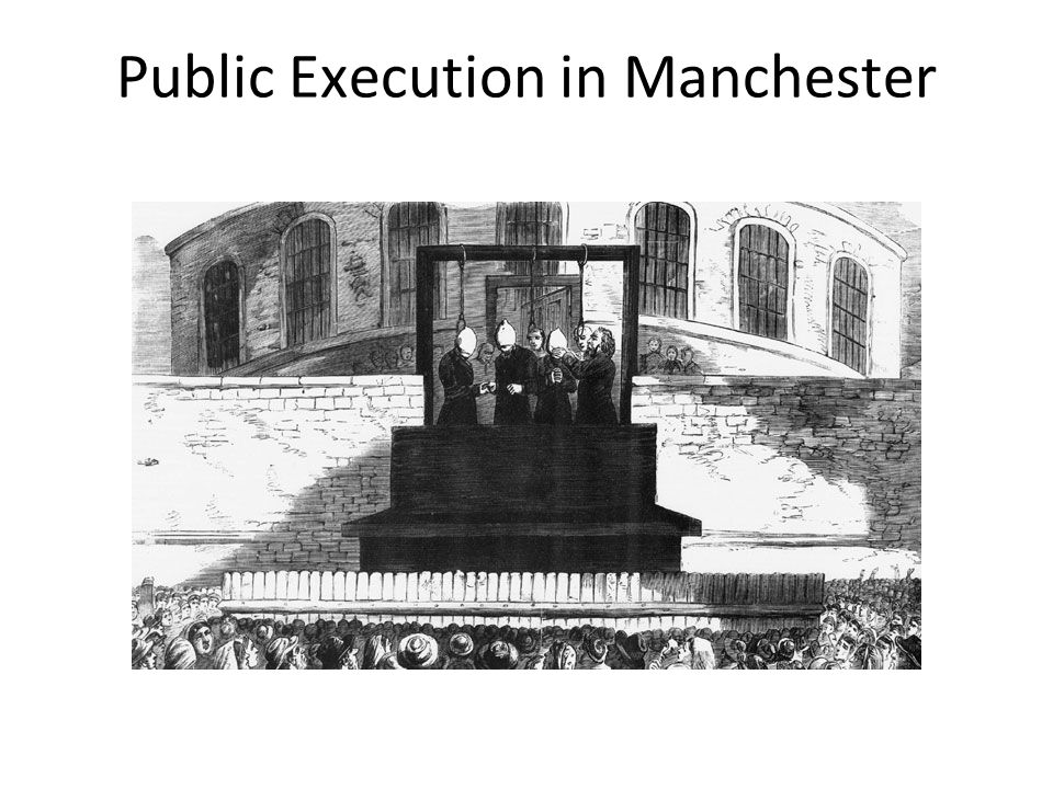 Public Execution in Manchester