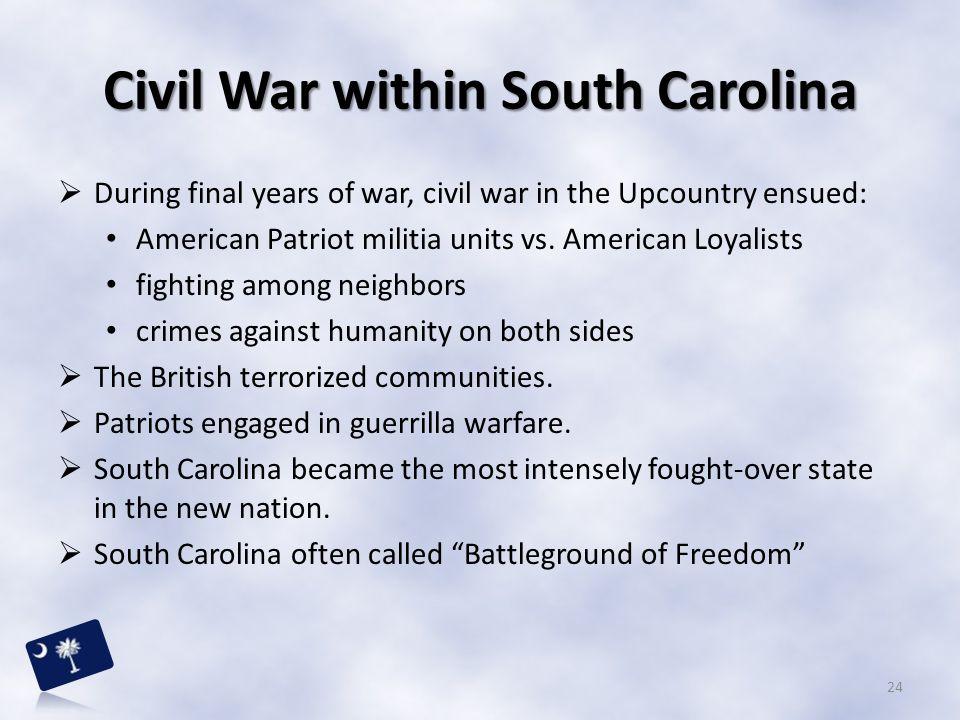 Civil War within South Carolina