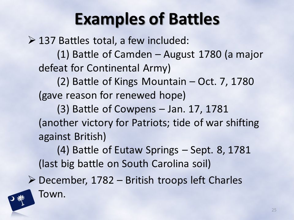 Examples of Battles