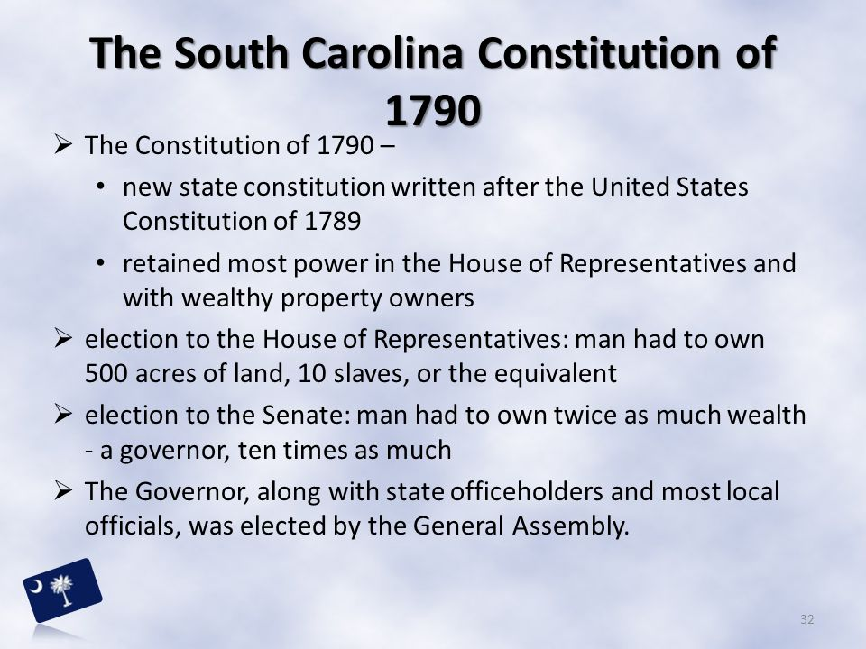 The South Carolina Constitution of 1790