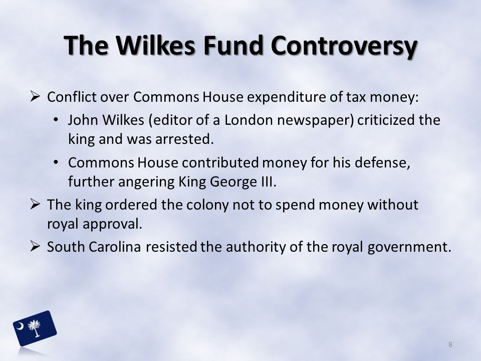 The Wilkes Fund Controversy