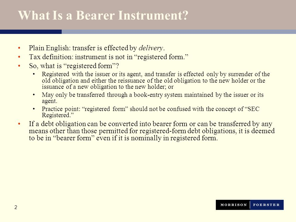Sample Bearer Instrument