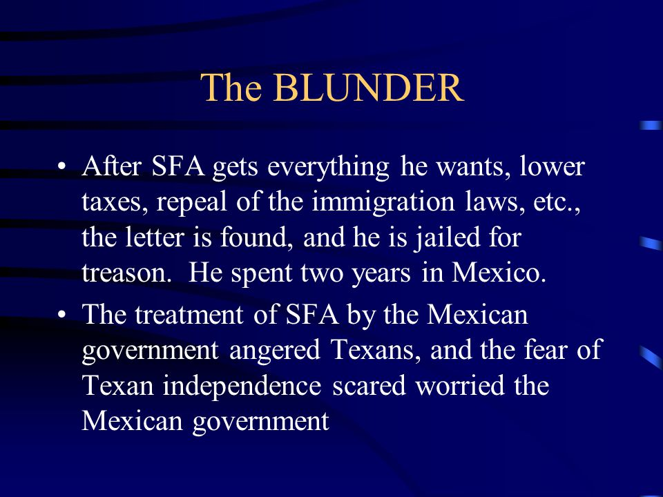 The BLUNDER