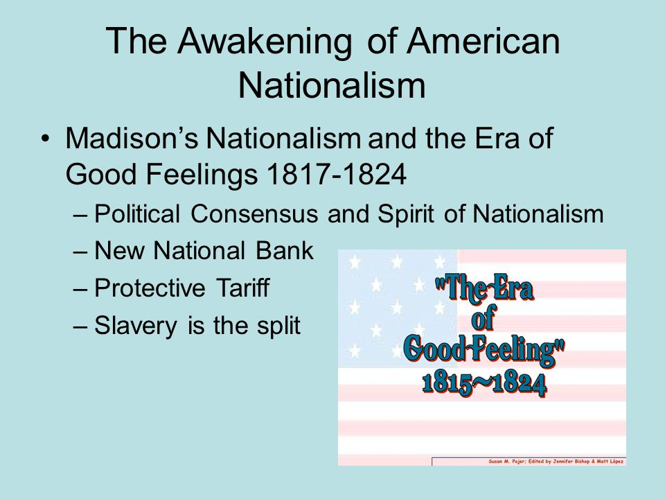 The Awakening of American Nationalism