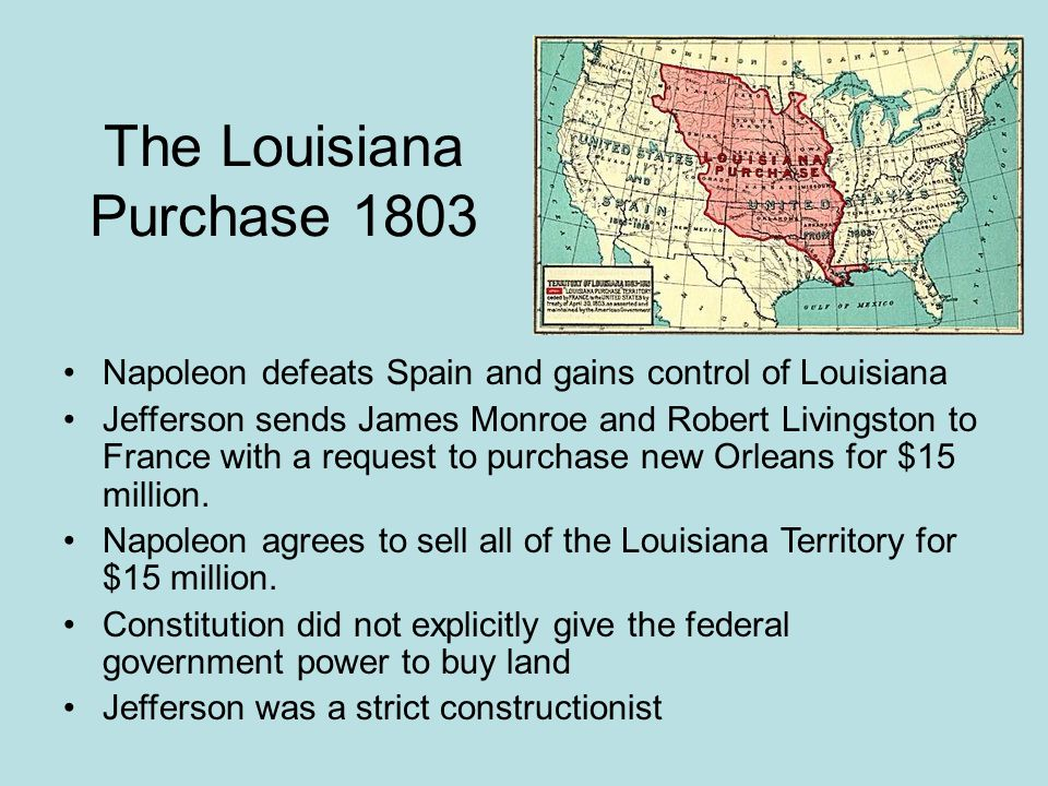 The Louisiana Purchase 1803