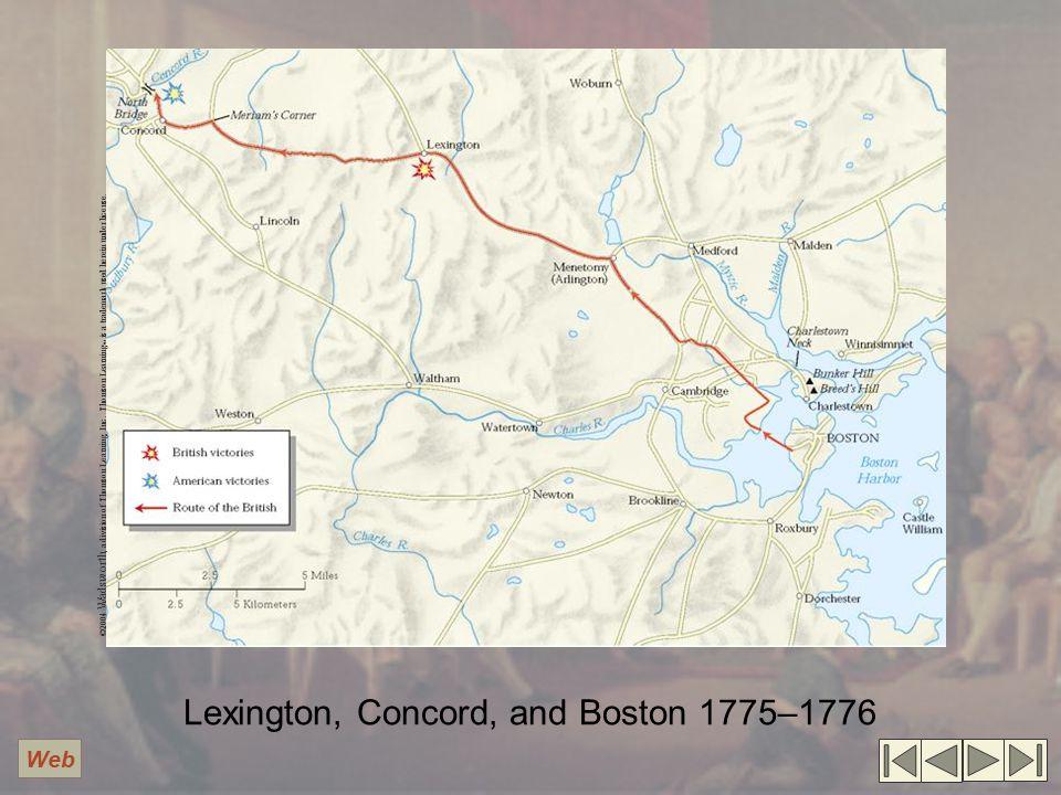 Lexington, Concord, and Boston 1775–1776