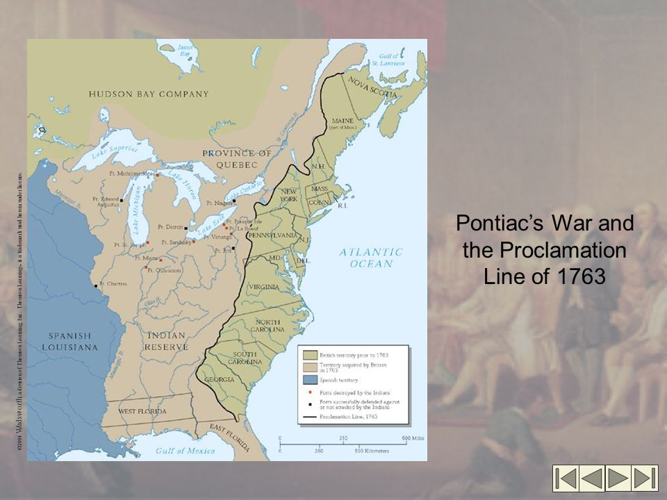 Pontiac's War and the Proclamation Line of 1763