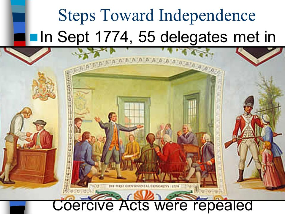 Steps Toward Independence