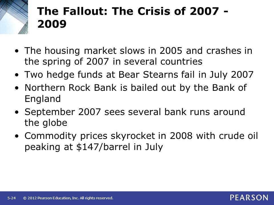The Fallout: The Crisis of 2007 - 2009