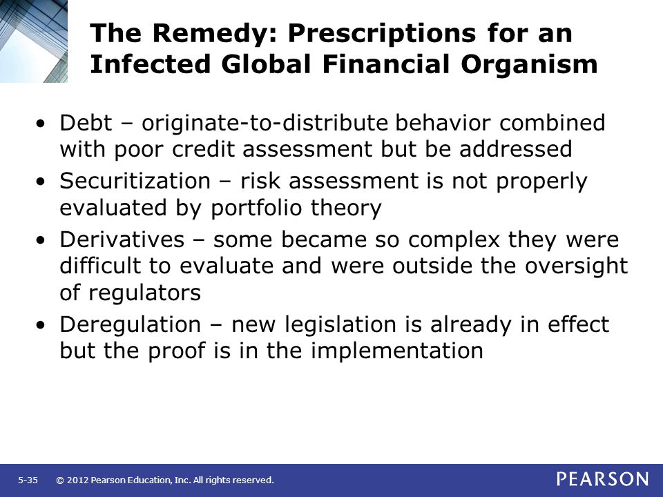 The Remedy: Prescriptions for an Infected Global Financial Organism