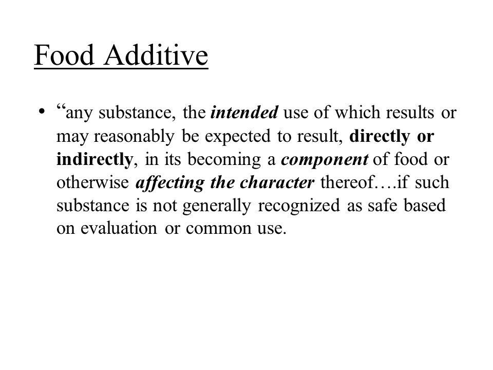 Food Additive