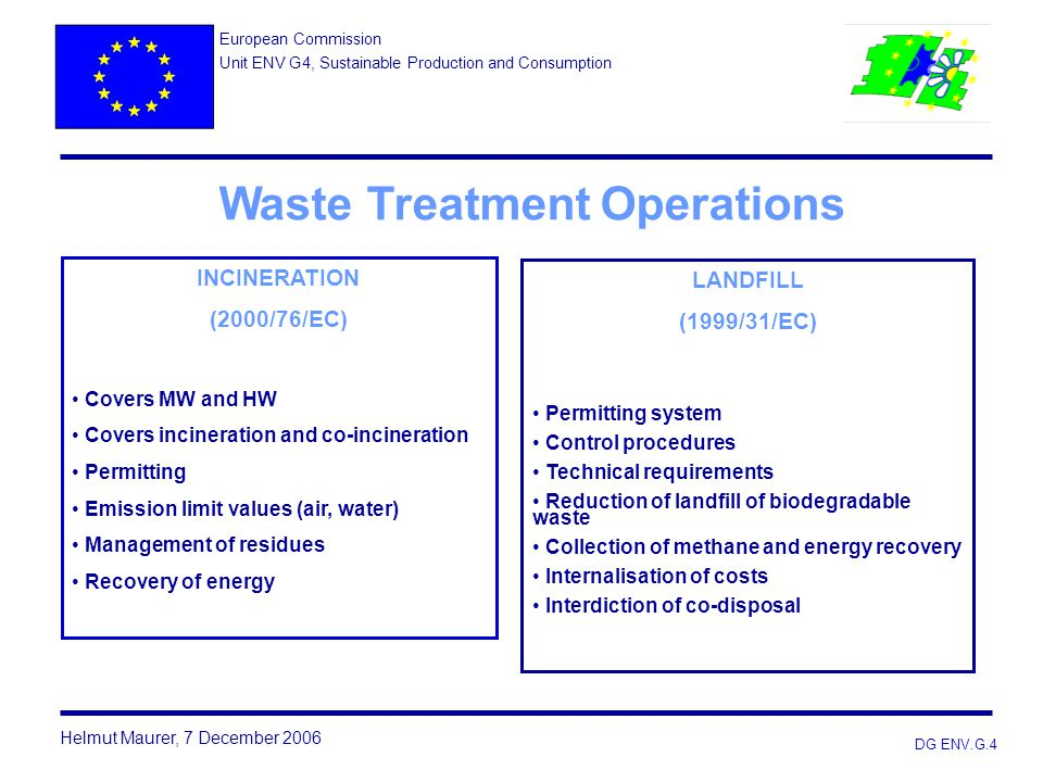 Waste Treatment Operations