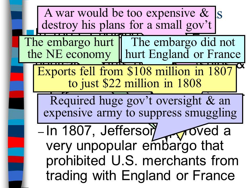 Renewed Conflict Overseas
