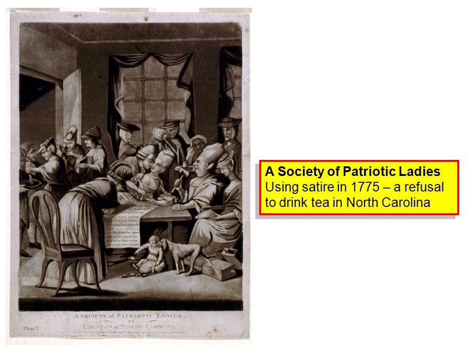 A Society of Patriotic Ladies