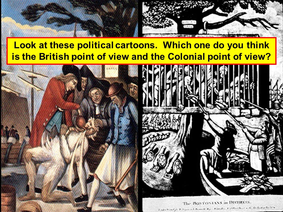 Look at these political cartoons