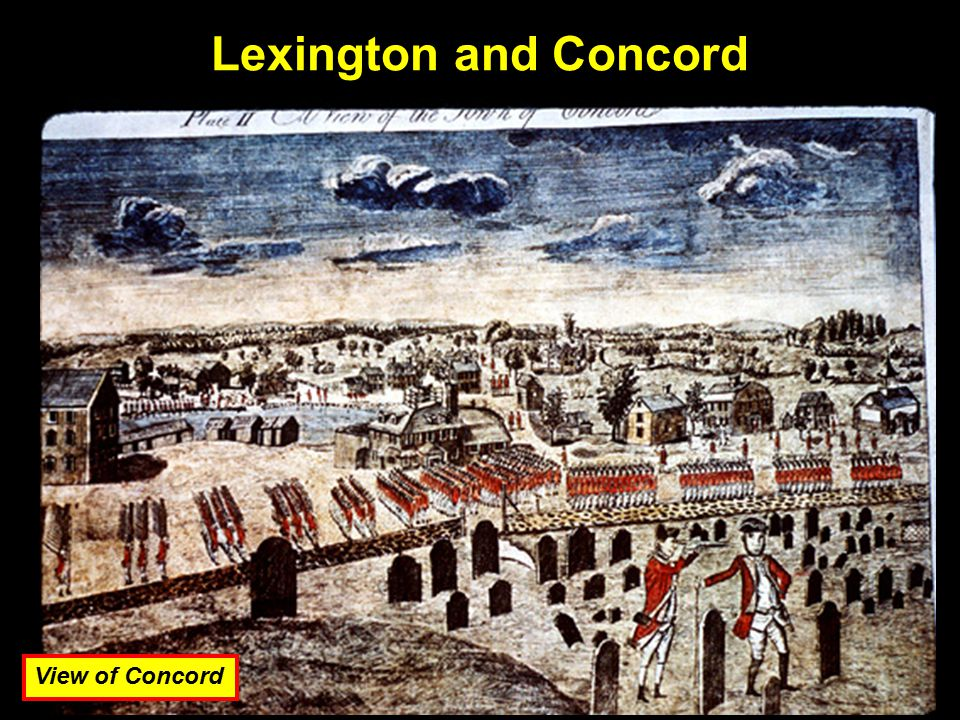 Lexington and Concord View of Concord