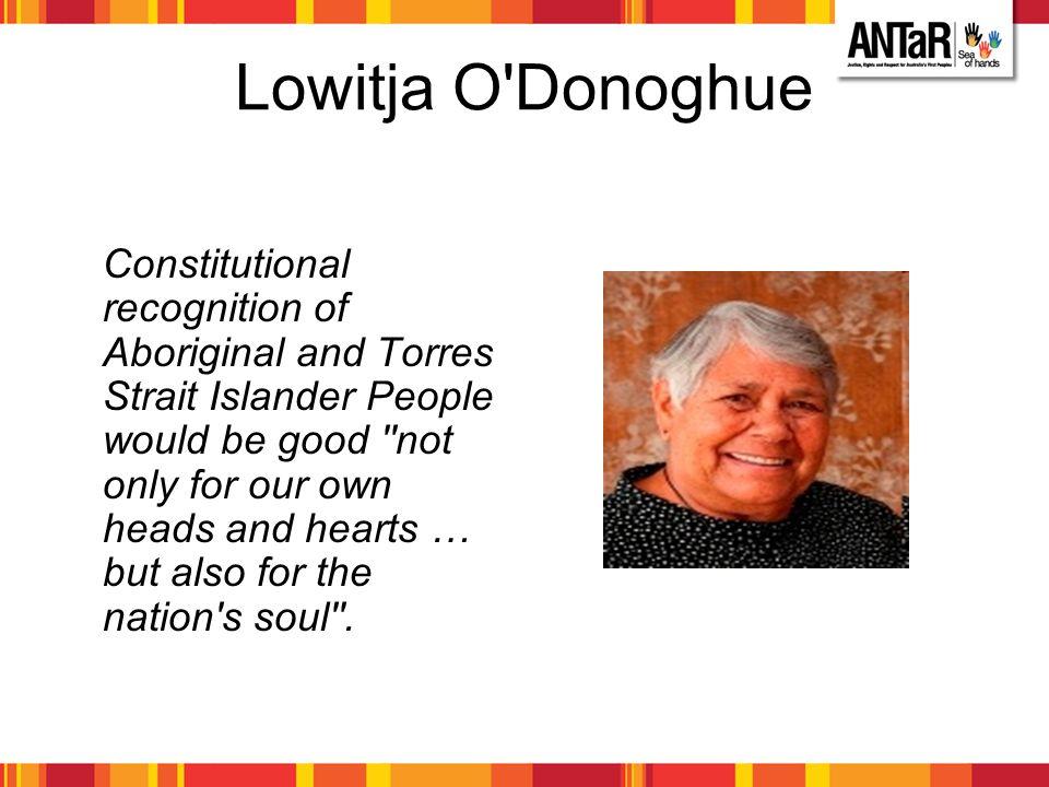 Lowitja O Donoghue