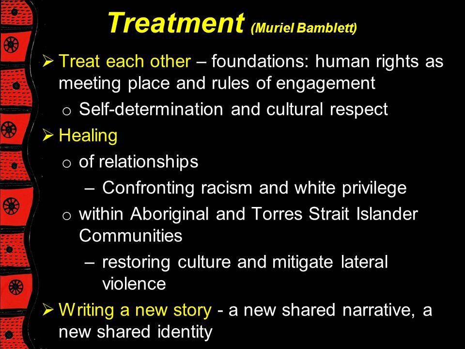 Treatment (Muriel Bamblett)