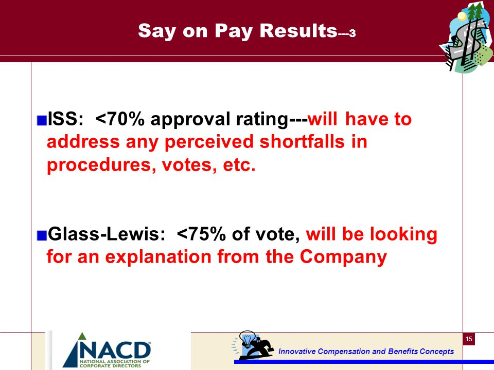 NACD Pay for Performance research