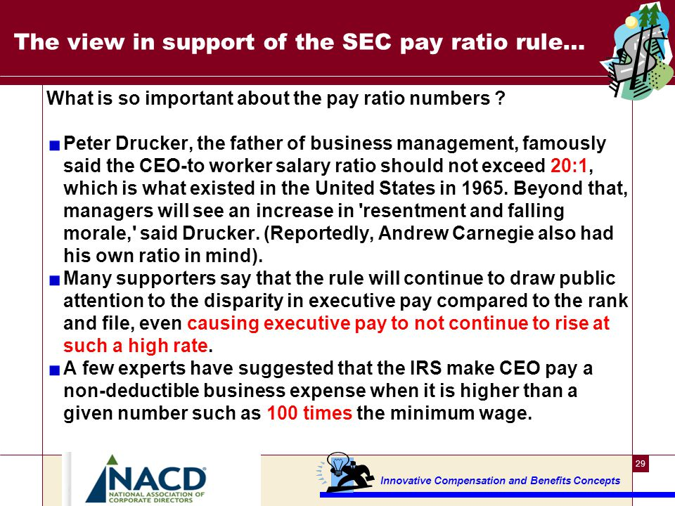 The view in support of the SEC pay ratio rule ---2