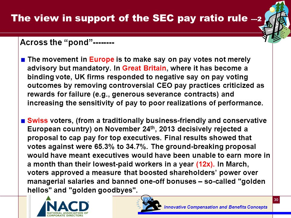The view in support of the SEC pay ratio rule ---3