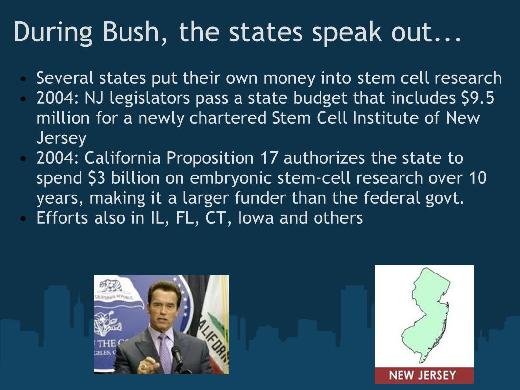 During Bush, the states speak out...