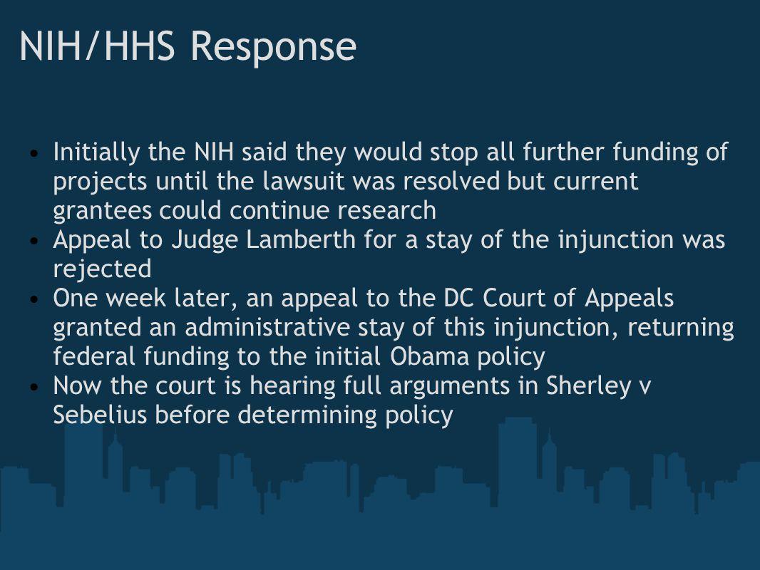NIH/HHS Response