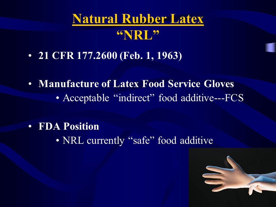 Natural Rubber Latex NRL