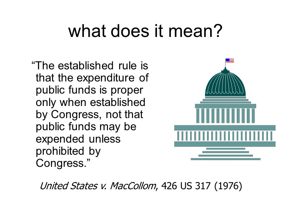 what does it mean United States v. MacCollom, 426 US 317 (1976)