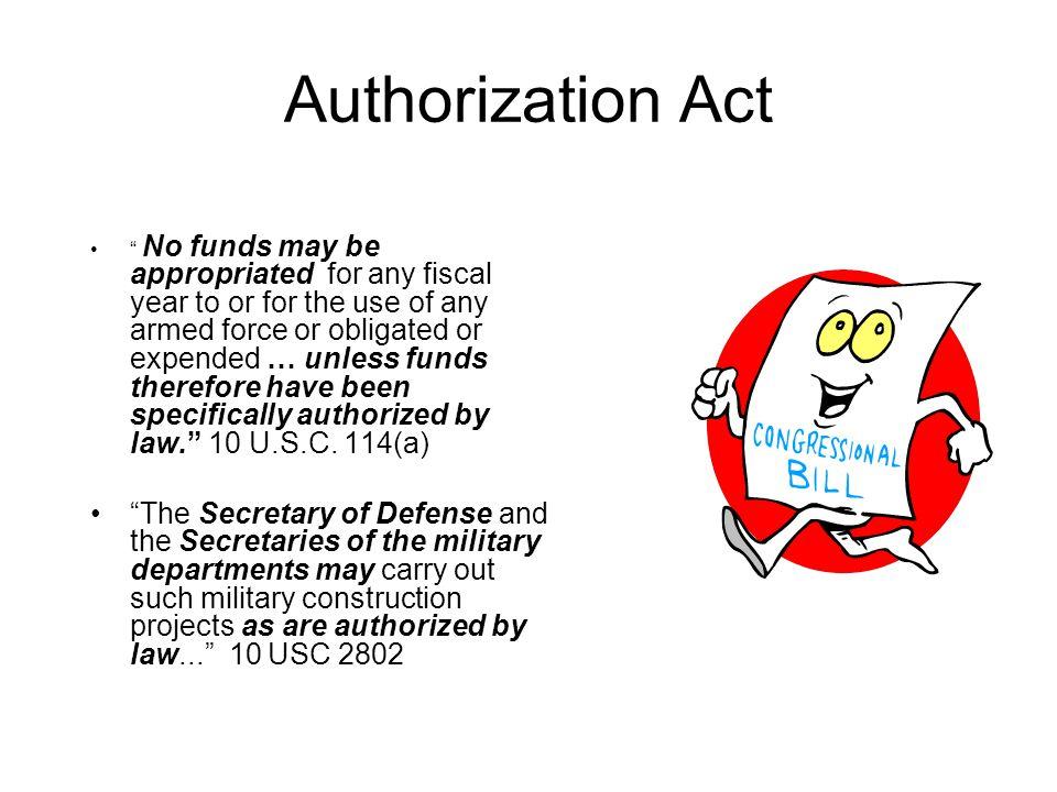 Authorization Act