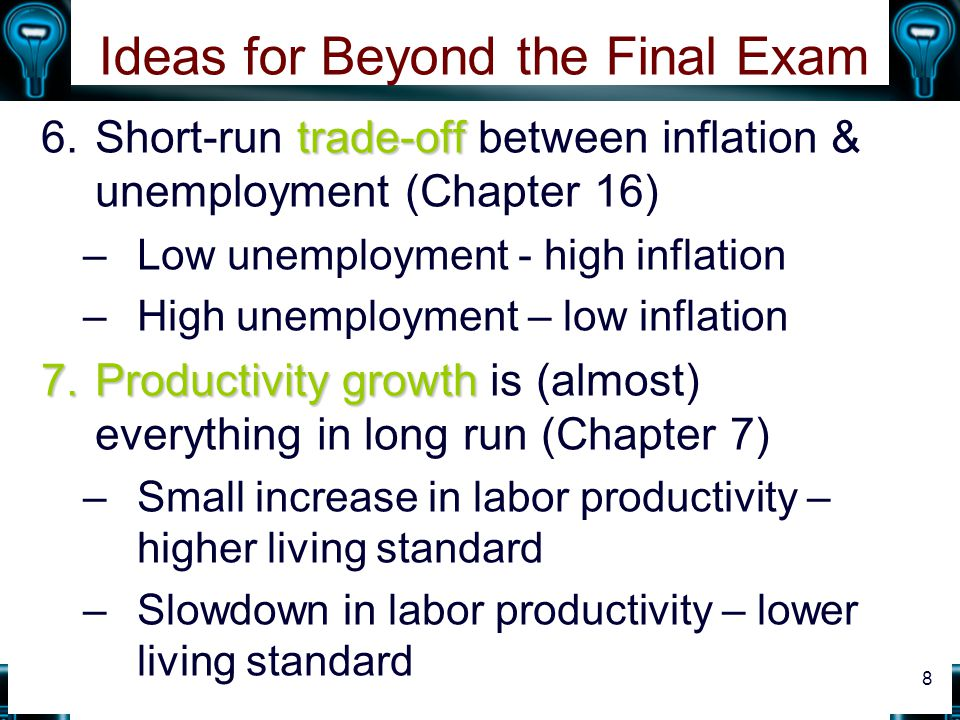 Ideas for Beyond the Final Exam
