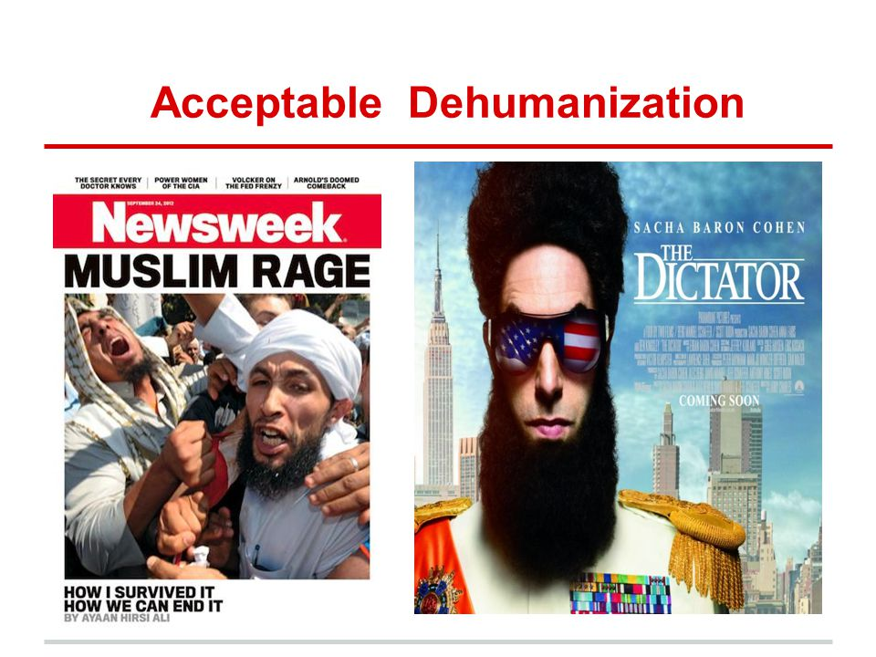 Acceptable Dehumanization