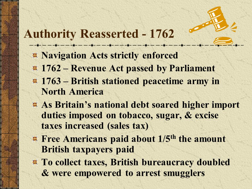 Authority Reasserted - 1762