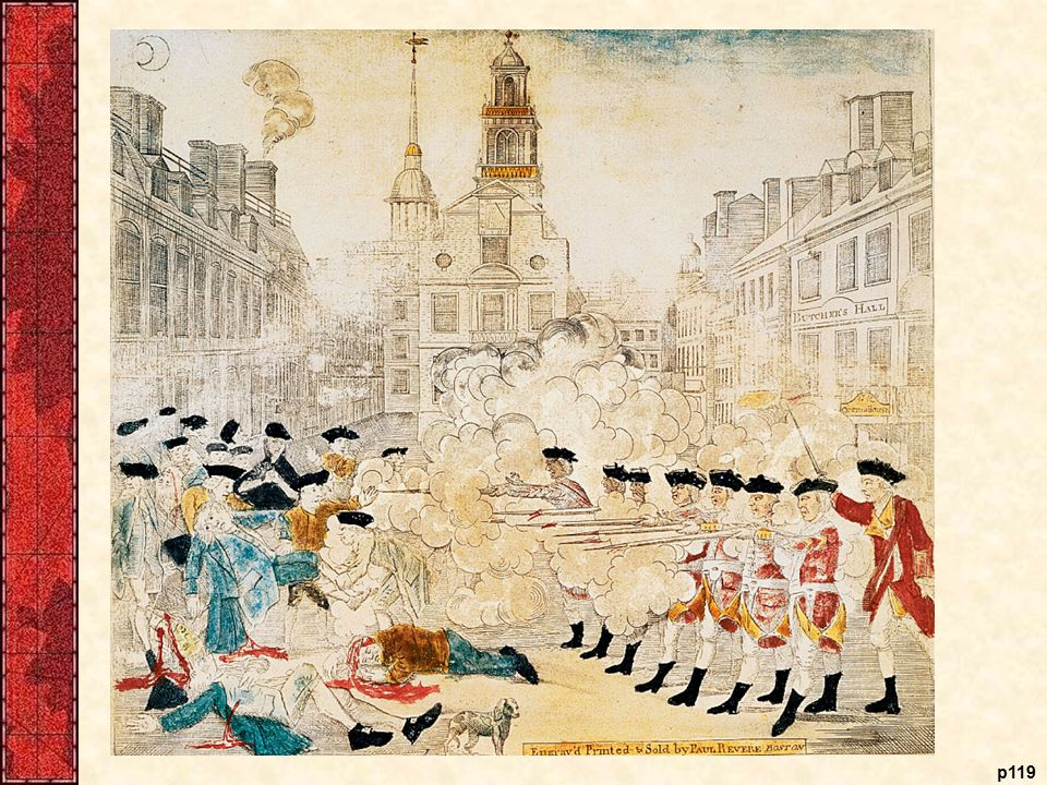 Two Views of the Boston Massacre, 1770 and 1856 Both of these prints of the Boston Massacre were art