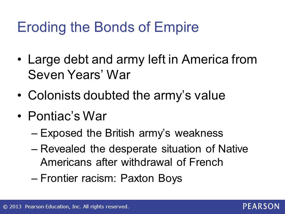 Eroding the Bonds of Empire