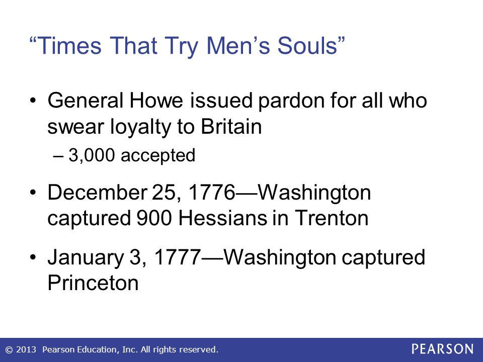 Times That Try Men's Souls