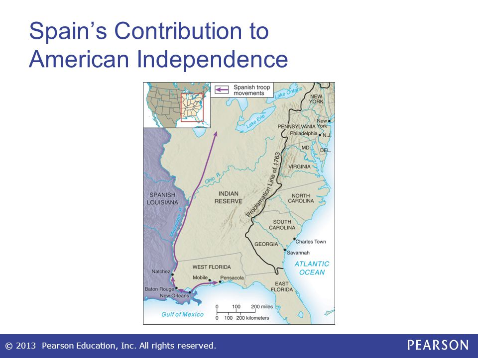 Spain's Contribution to American Independence