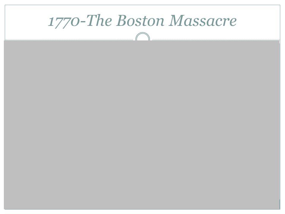 1770-The Boston Massacre Propaganda (Paul Revere)