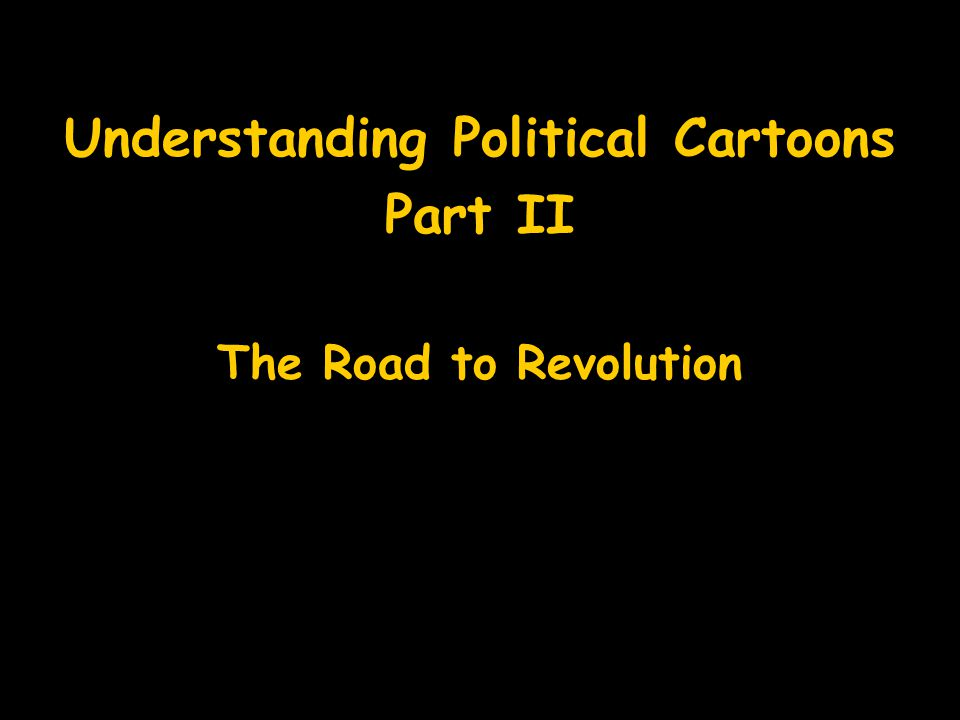 Understanding Political Cartoons
