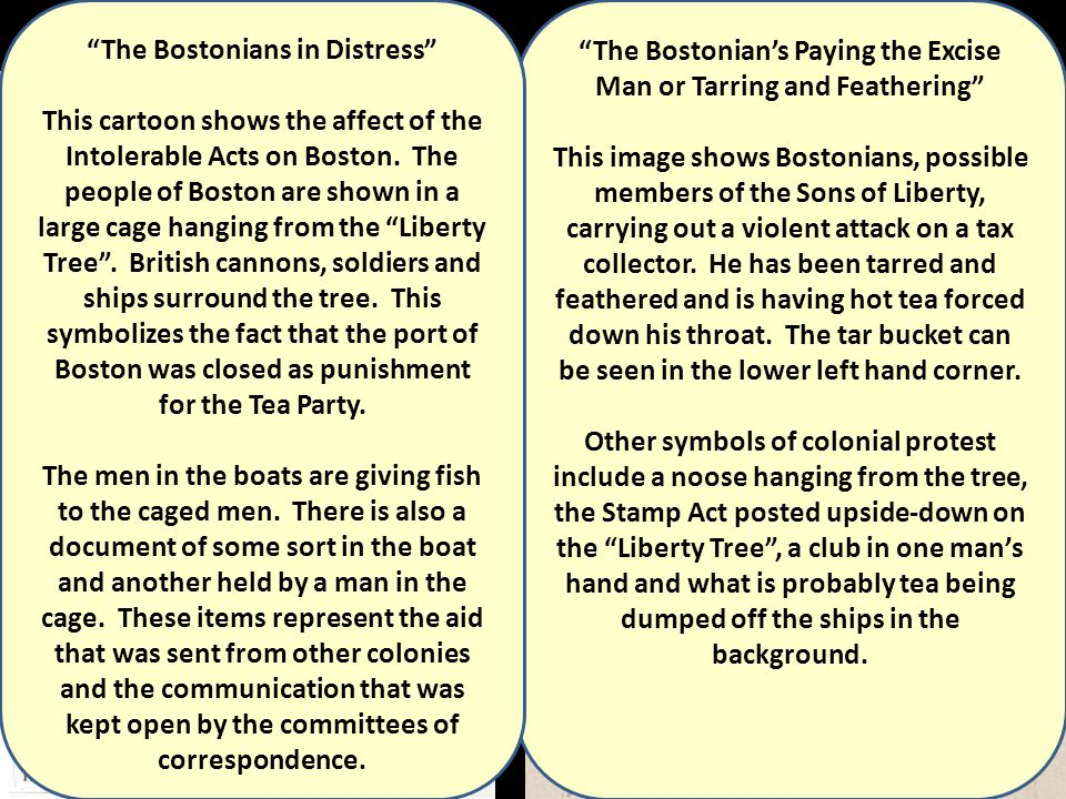 The Bostonian's Paying the Excise Man or Tarring and Feathering