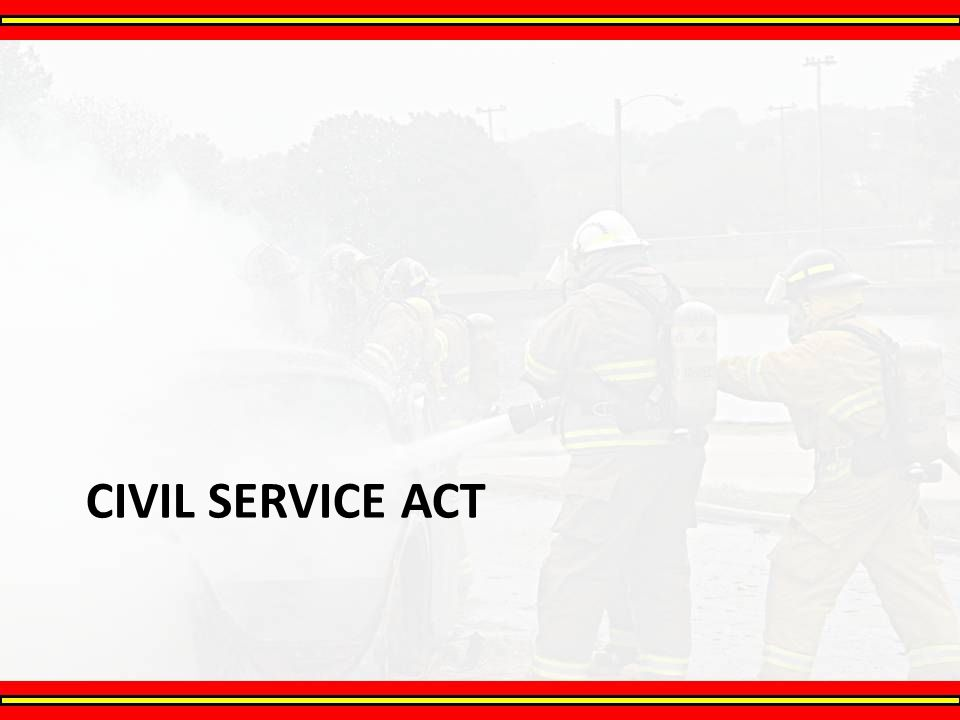 Civil Service Act