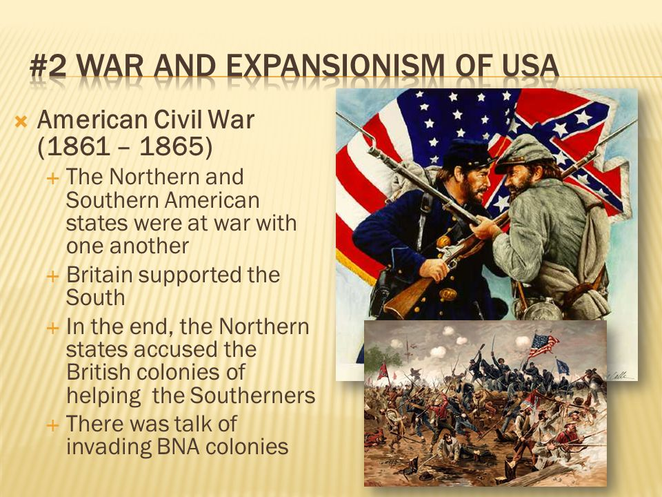 #2 War and expansionism of USA